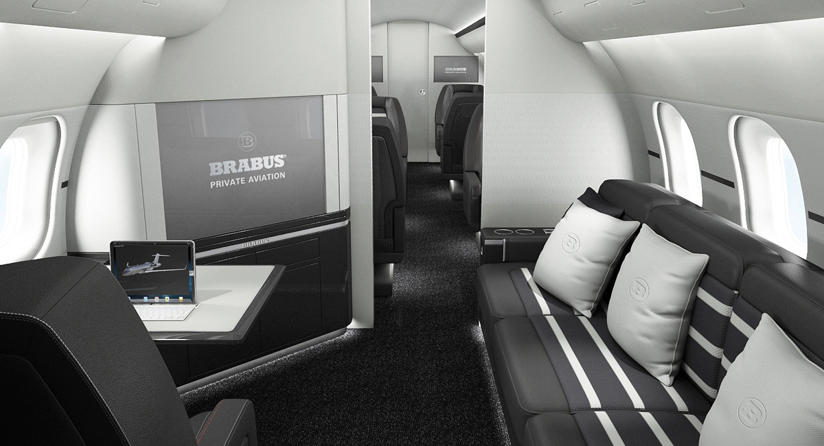 Brabus Private Jets